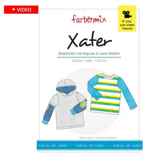 XATER SKATERSHIRT